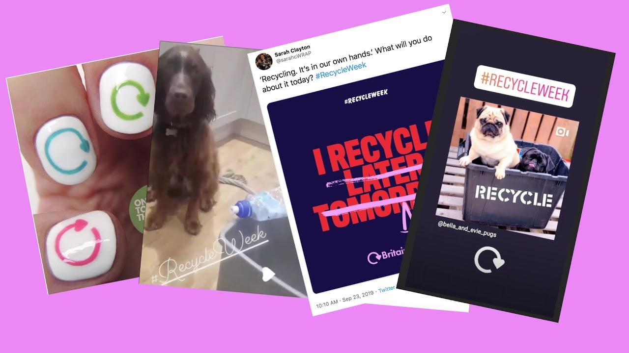 Recycle Week 2019 Showreel