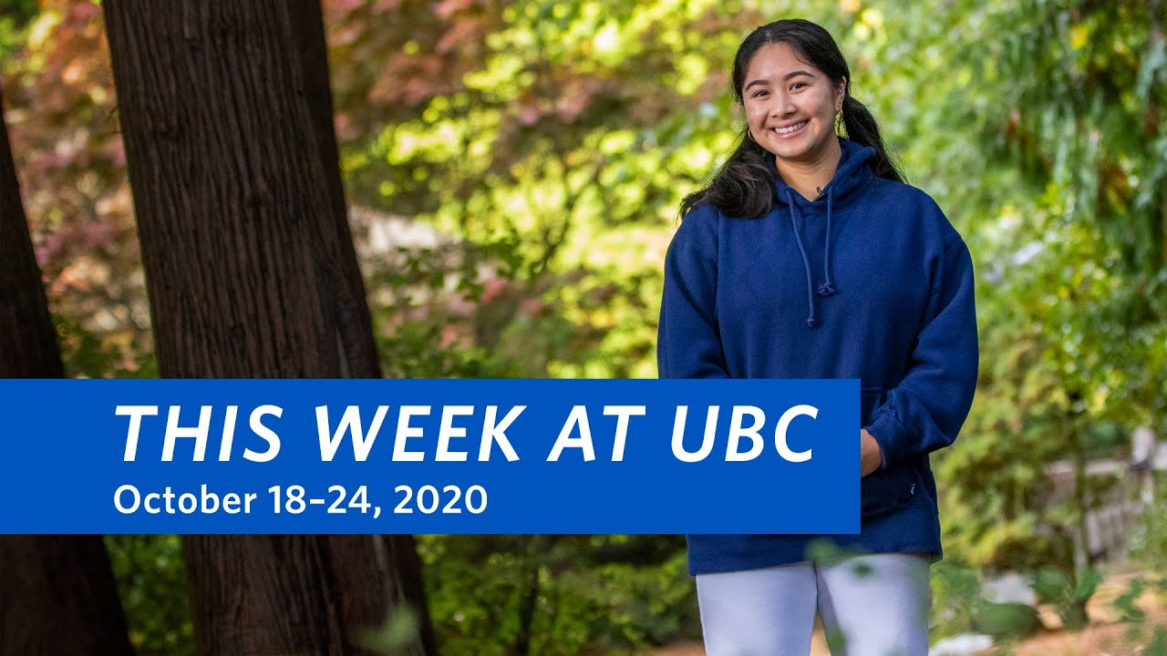 This Week at UBC: October 18–24, 2020