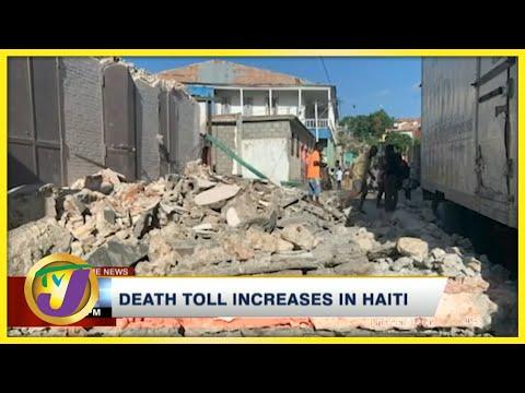 Death Toll Increase in Haiti | TVJ News - August 15 2021