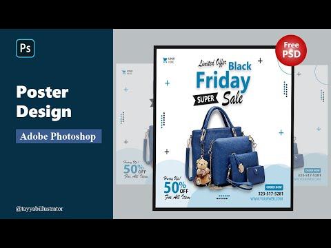 Photoshop Tutorial | Learn Advertising Poster Design | Social Media Sale Post Design  Photoshop 2021