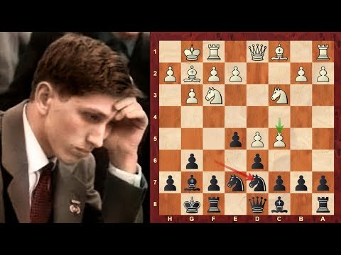 Chess Legend Bobby Fischer plays his favourite Kings Indian Defence against Viktor Korchnoi