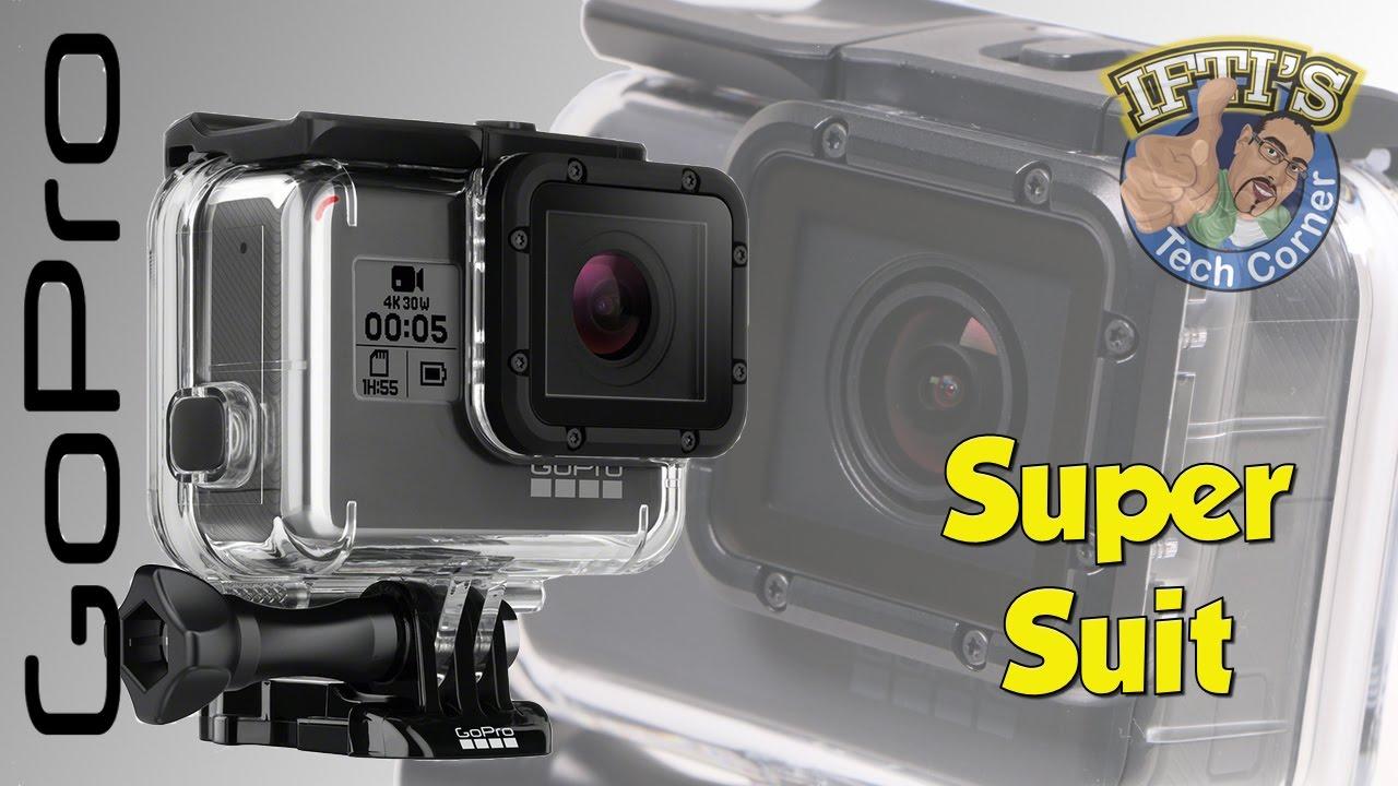 86876d7a3acb72 GoPro Hero 5 Black - Super Suit Dive Housing : REVIEW - YouTube