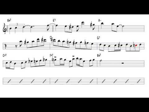 Autumn Leaves Joseph Kosma 1947 Tenor Sax