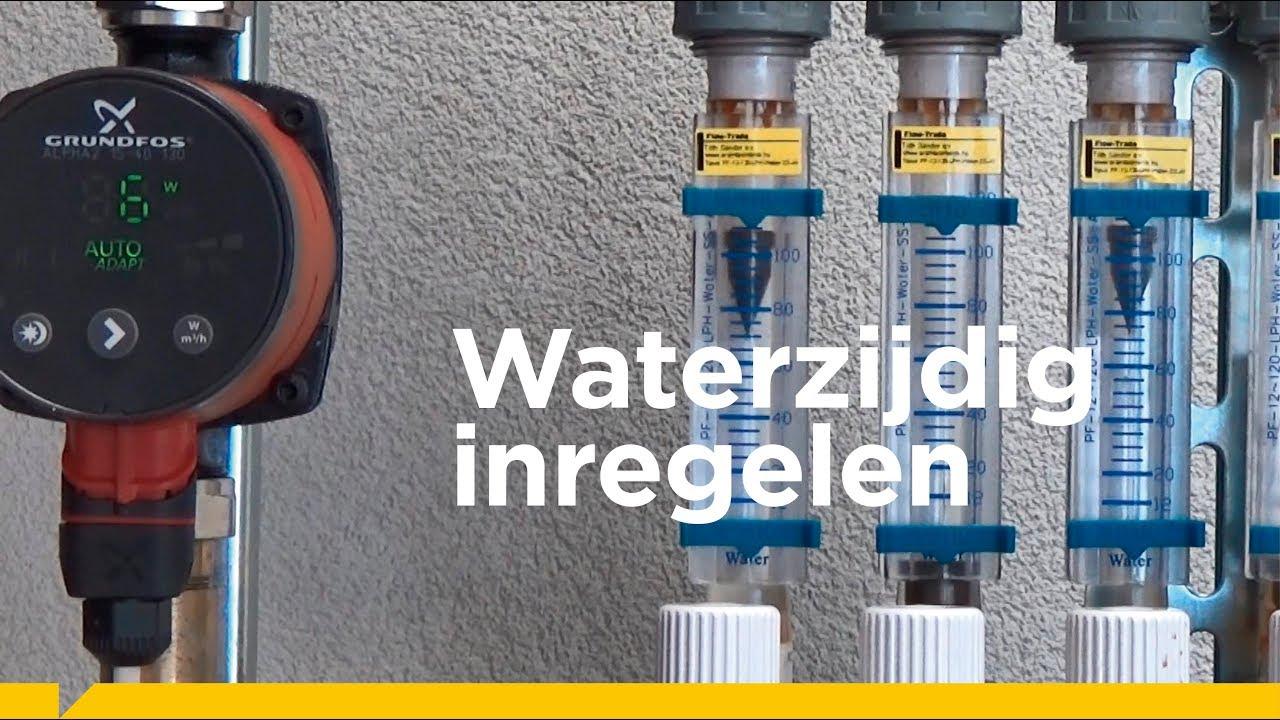 Bekend Waterzijdig inregelen: statisch en dynamisch - YouTube JY58