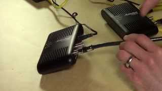 Actiontec MoCA Ethernet over Coax Adapter Kit Review - ECB2500c