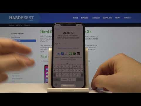 iPhone Xs — Первоначальная настройка устройства