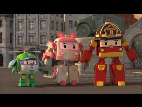 Робокар Поли - Трансформеры - Обещания Скулби (мультфильм 48)