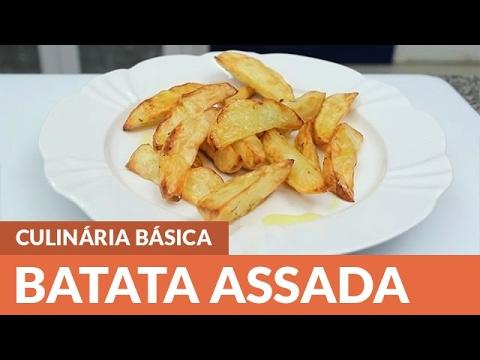 Como fazer Batata Assada