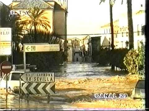 Inundaciones en Ecija 1997