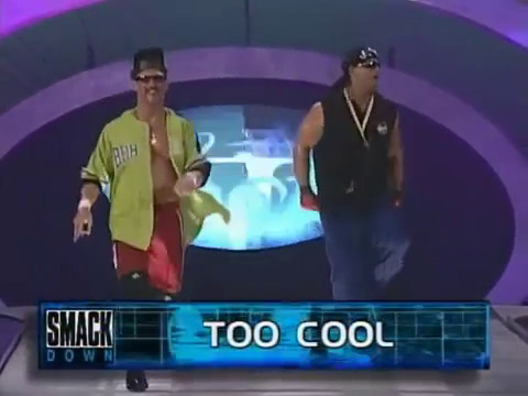 Too Cool vs Edge & Christian - Smackdown 10/28/99 Debut