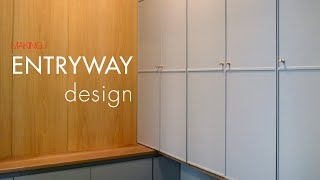 W92_Entryway makeover with sho…