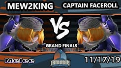 DHATL 2019 SSBM - MVG | Mew2King (Sheik, Fox) Vs. Captain Faceroll (Sheik) Smash Melee Grand Finals
