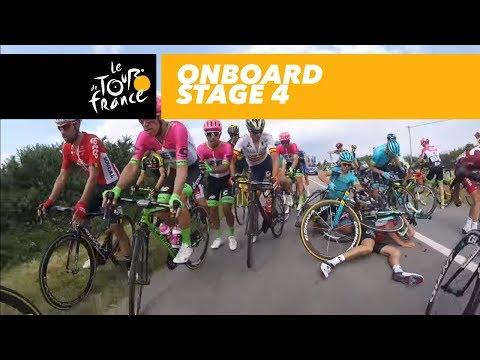 Onboard camera - Stage 4 - Tour de France 2018