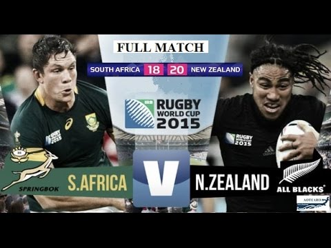 Rugby World Cup 2015 'Full Match' - Semi Final  All Blacks v