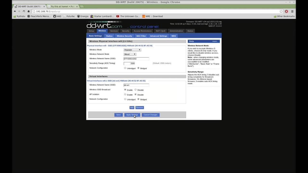 dd-wrt repeater mac filter not working
