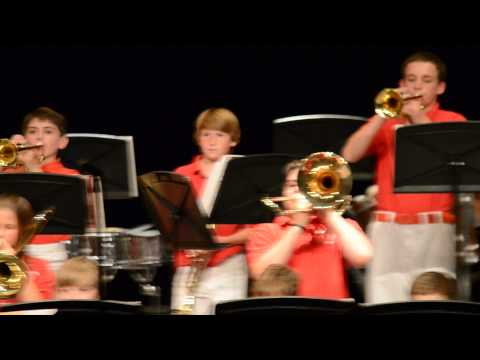 Grooved Pavement - Nissitissit Middle School Jazz Band 2015 Spring Concert