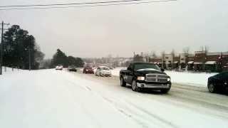 Charlotte snow storm 2014