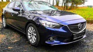 Mazda 6. Самый красивый и технологичный японец.