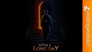 After a Long Day - Speed art (#Photoshop) | CreativeStation