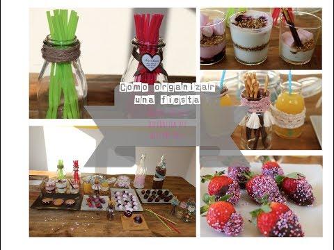 Cómo organizar una fiesta | Decoración DIY, postres fáciles, welcome bags