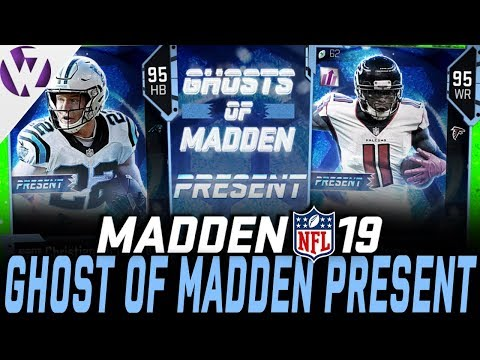 GHOST OF MADDEN PRESENT PULL! - Madden 19 Pack Opening
