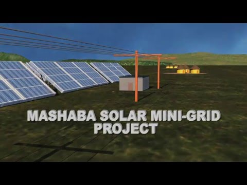 Mashaba Solar Mini-grid Project