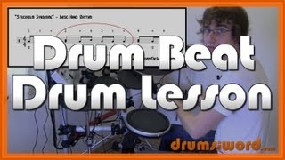 ★ Stockholm Syndrome (Muse) ★ Drum Lesson | How To Play Drum Beat (Dominic Howard)
