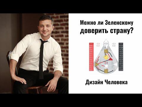 Владимир Зеленский. Разбор по Дизайну Человека