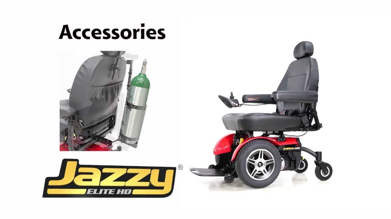 jazzy power chairs steel folding chair with tablet arm elite hd from pride mobility youtube