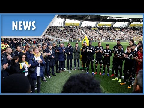 FC Nantes' moving tribute to Emiliano Sala