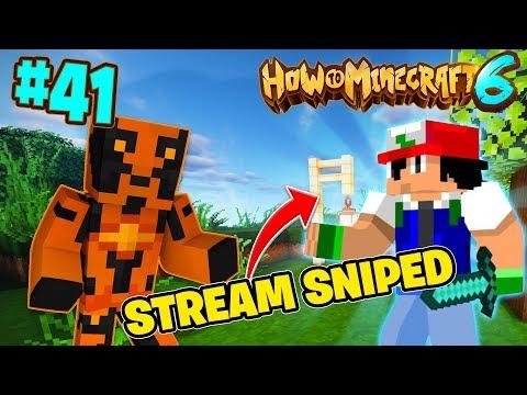 I *STREAM SNIPED* JERICHO!  - How To Minecraft #41! (Season 6)