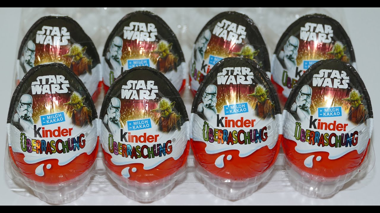 star wars 2016 kinder surprise eggs eier huevo sorpresa. Black Bedroom Furniture Sets. Home Design Ideas