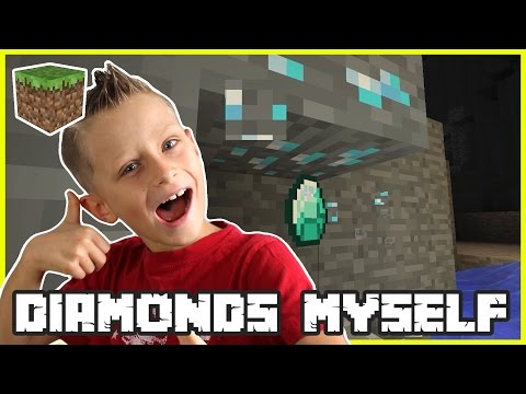 Finishing the House / Diamonds Myself / Minecraft