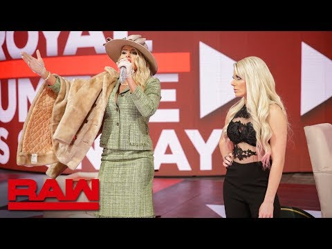 """Lacey Evans makes an unexpected appearance on """"A Moment of Bliss"""": Raw, Jan. 21, 2019"""