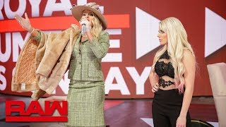 Lacey Evans makes an unexpected appearance on quotA Moment of Blissquot Raw Jan 21 2019