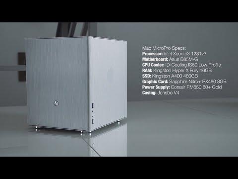 DIY XEON Hackintosh Build | Mac MicroPro | ASUS B85M-G | JONSBO V4 | MOJAVE