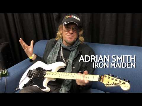 Iron Maiden's Adrian Smith on Jackson & His Refreshed USA Sig Models