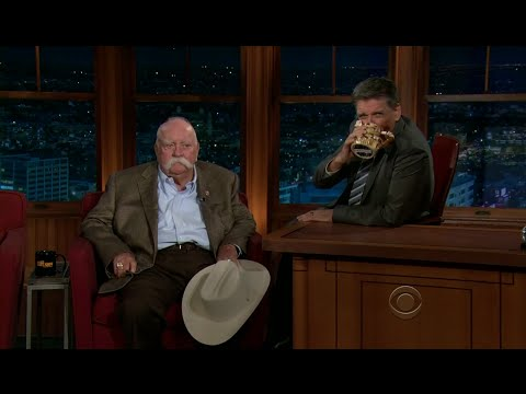 Late Late Show with Craig Ferguson 11/23/2011 Ty Burrell, Wilford Brimley