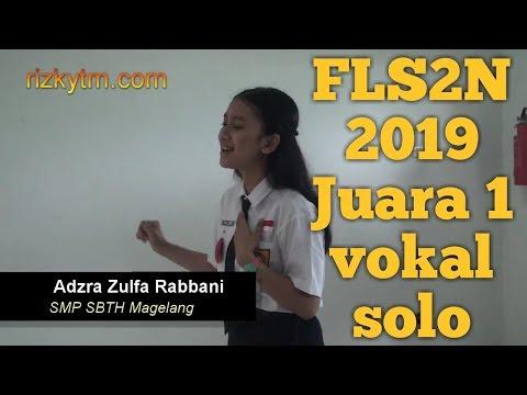 Juara 1 FLS2N 2019 Menyanyi Tunggal