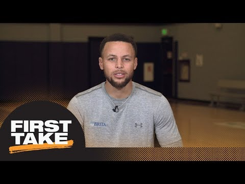 Stephen A. and Max ask Steph Curry about injury and Warriors vs. Rockets | First Take | ESPN