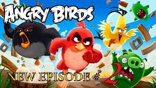 Angry Birds cartoons for kids new funny episodes Angry Birds movie for children new season #2...