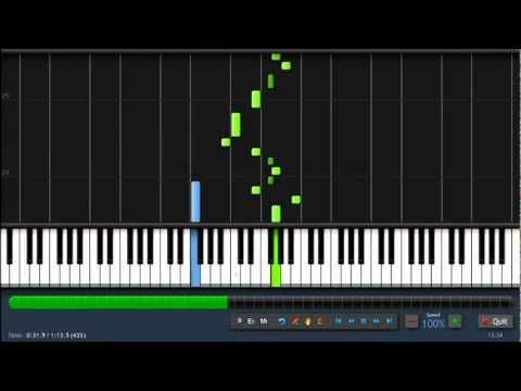 The Simpsons Theme - Piano Tutorial - Synthesia