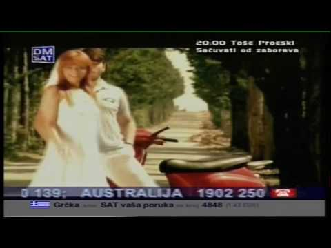 Tose Proeski - Volim osmijeh tvoj HD