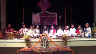 Aa chal ke tujhe - Evergreen number, sung in group by students of Swasti Pandey