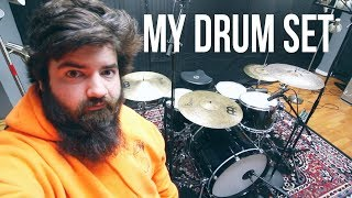 My Drum Set Up For 2018!