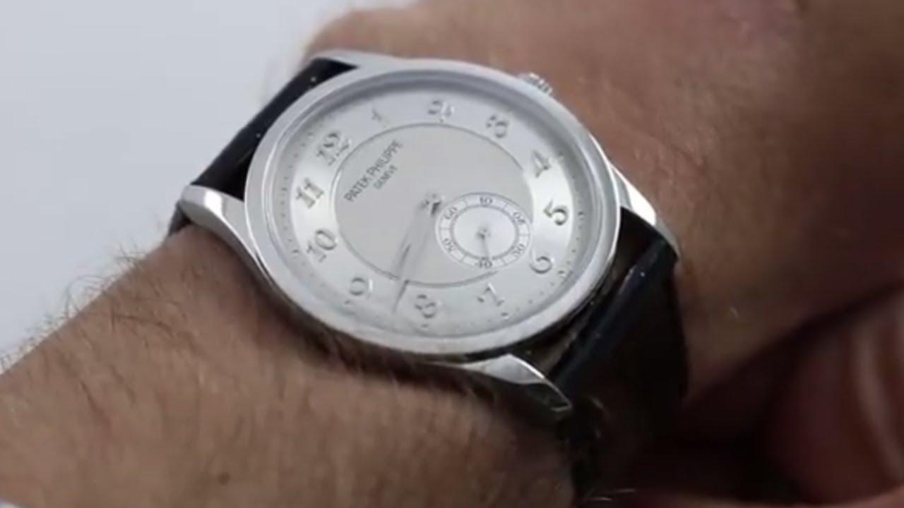 Patek Philippe Calatrava 5196p 001 Luxury Watch Review
