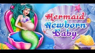 Mermaid New Born Baby - Mermaid Girl, Mermaid Baby, Newborn Gameplay Video By GameiCreate