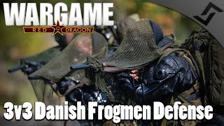 3v3 Danish Frogmen Defense - Wargame: Red Dragon 3v3 Multiplayer Gameplay