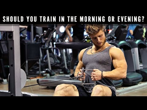 What is the BEST Time of Day to Train? | Should You Do Cardio or Weights First?