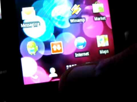 Samsung Galaxy 3 GT - i5800 / i5801 : Enable Live Wallpapers